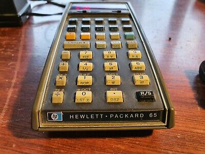 Hewlett Packard HP 65 Calculator - Vintage HP Classic programmable calculator