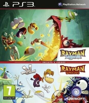 Rayman Legends + Origins - PS3 - Leer descripción