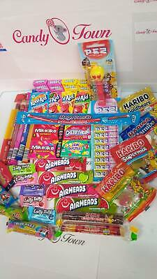 American & Scandinavian Candy Box Hamper of Sweets iCandy - 39 Items Gift - CT19