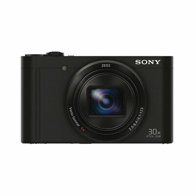 Sony Cybershot DSC-Wx500 Compact Digital Camera - Black