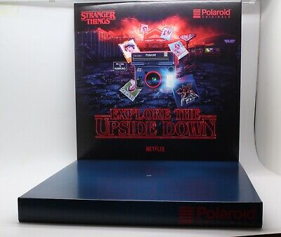 Stranger Things Polaroid OneStep 2 VF Instant Camera Display floating stand Rare