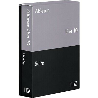 Ableton Live 10 Suite DAW Full License Transfer Windows/MacOS