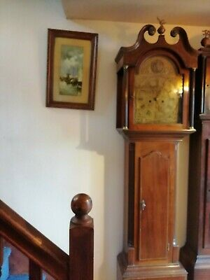 Longcase grandfather clock 8day
