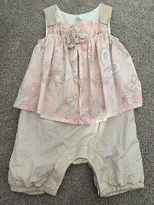 Next Baby Girls Summer Outfit. Age 9-12 Months. Immaculate Condition