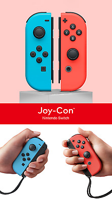 Nintendo Switch Joy-con Left Blue Right Red Wireless Gamepad Free Shipping