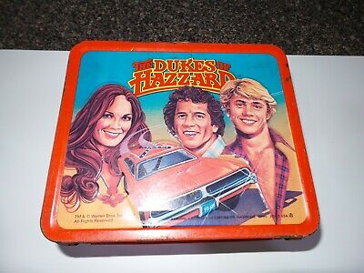Aladdin Dukes of Hazzard Metal Lunchbox, vintage 1980