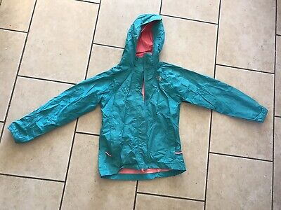 The North Face Girls Lightweight Waterproof Summer Jacket Age 10/12 VG Condition