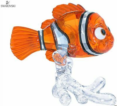 New in Box $219 SWAROVSKI Figurine Disney Finding Nemo #5252051