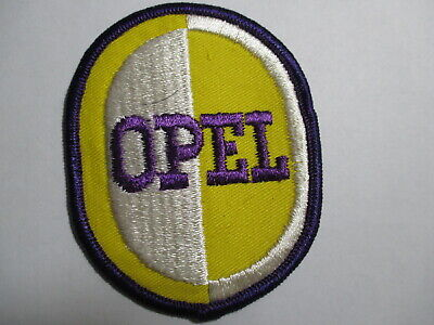 Opel Vintage Patch, Not a Reproduction, NOS, 2 3/4 X 3 1/2 Inches