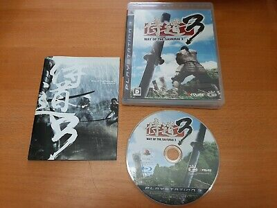 Way of the Samurai 3 (Sony PlayStation 3, 2009) Japan version!!