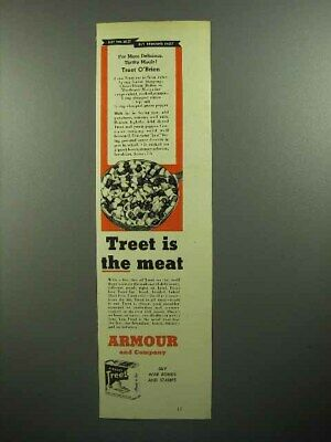 1945 Armour Treet Meat Ad!