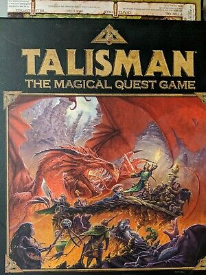Talisman The Magical Quest Game Black Industries Games Workshop 2007