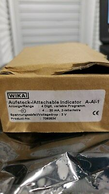 Wika 7082534 A-A1-1 Attachable Indicator
