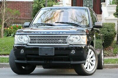 2008 Land Rover Range Rover Supercharged 4x4 4dr SUV 2008 Land Rover Range Rover Supercharged 4x4 4dr SUV Automatic 6-Speed 4X4 V8
