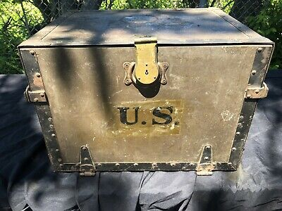 U.S. Army Field Desk Needs Restored Medium Size WW2 Original