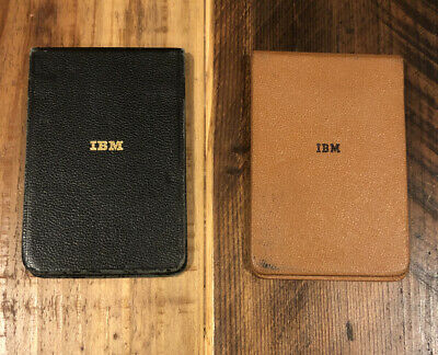 2 Early Vintage 1960's IBM Think Pads Memo Notebooks