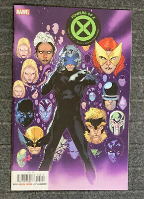 POWERS OF X #4 MARVEL Cover A 1ST PRINT X-MEN Hickman