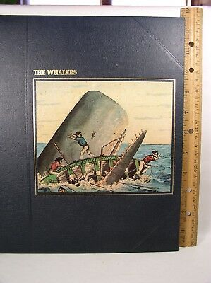 Seafarers: The Whalers by A. B. C. Whipple & Time Life Editors (1979, Hardcover)