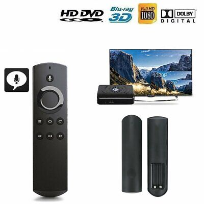 Replacement Remote Control DR49WK B +Alexa Voice For Amazon Fire TV Stick Home