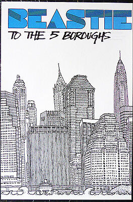 Beastie Boys - To The 5 Boroughs  -  Original Rock Promo Set Of 4 Posters (2004)