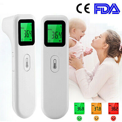 Non-Contact Infrared Forehead Thermometer LED Digital Baby/Adult Temperature Gun
