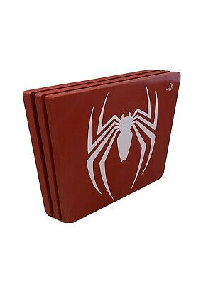 Sony PlayStation 4 Slim Limited Edition Marvel's Spider Man 1TB Red Console...