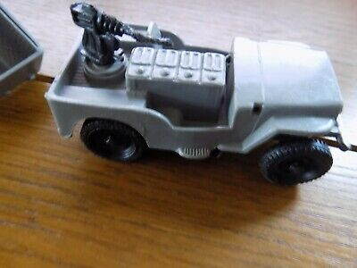 Empire Made Plastic Jeep And Trailer