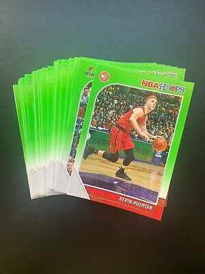 2019-20 Panini NBA Hoops NEON GREEN Pick Your Player (Many Available)