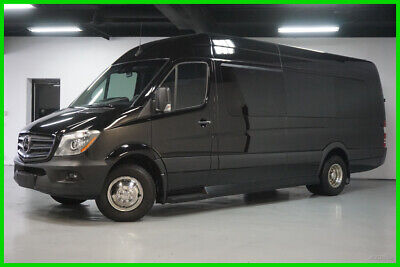 2017 Mercedes-Benz Sprinter 3500 XD Sprinter  FULL LIMO 2017 3500 XD Sprinter  FULL LIMO CONVERSION PACKAGE Used Turbo 3L V6 24V