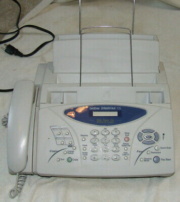 Brother IntelliFAX-775 Plain Paper Fax Phone & Copier