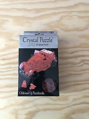 3D Jigsaw Puzzle Crystal Puzzle Oldtimer