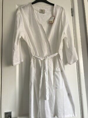 Primark Love To Lounge Cotton Dressing Gown Size Medium BNWT
