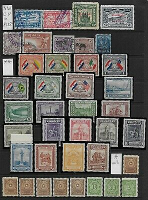 Lot f33 PARAGUAY  >  nice old Stamp Lot  !!!