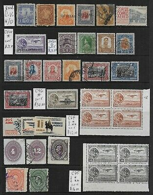 Lot f34 MEXICO  >  nice old Stamp Lot  !!!