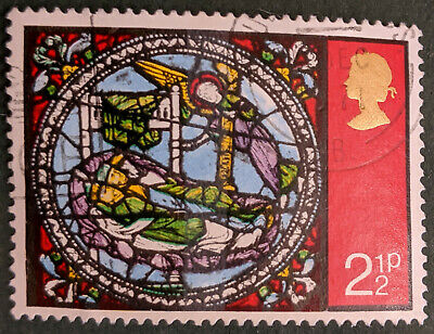 Stamp Great Britain 1971 2 1/2p Christmas Used