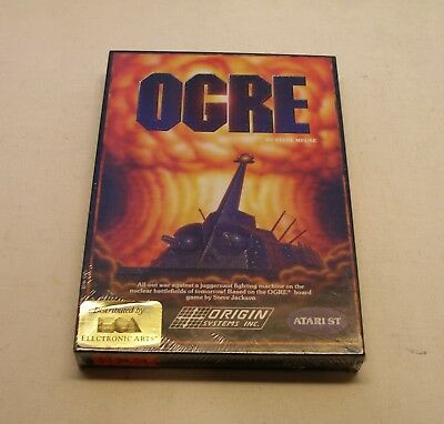 Ogre by Origin Systems for Atari ST- NEW