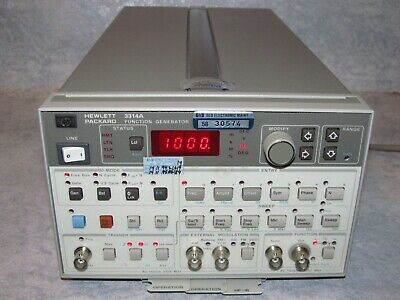 HEWLETT PACKARD HP 3314A Function Generator - Fully Tested/Works Perfectly/Mint