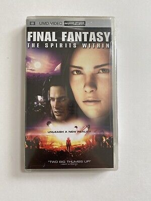 NEW Final Fantasy The Spirits Within PSP UMD Video