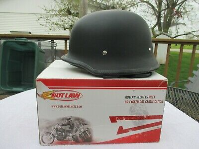 Outlaw model H120 (the hanz) motor cycle helmet size M worn little with box