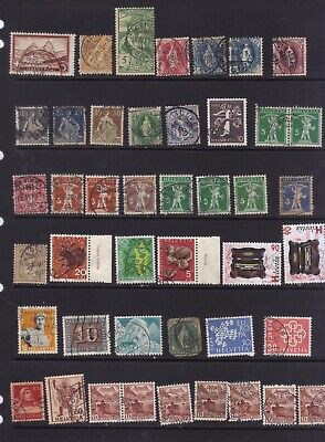 stamps  Switzerland 2w   see 2 scans