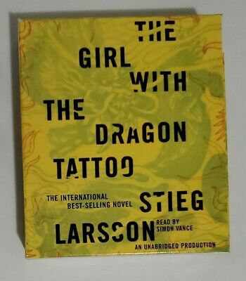 The Girl with the Dragon Tattoo No. 1 by Stieg Larsson (2009, CD, unabridged