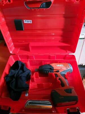 Hilti Cordless Impact Wrench SIW 22T-A 1/2 Inch Drive