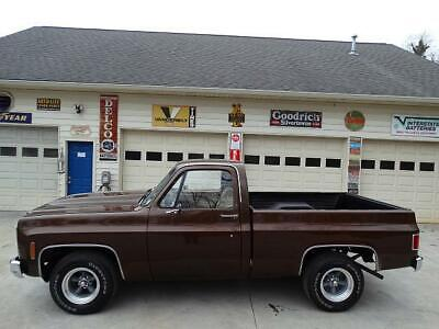 1980 Gmc Sierra  1980 Gmc Short Bed Pickup....rock Solid....great Paint And Things Work