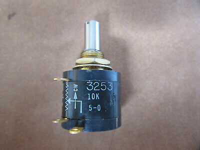 Duncan Model 3253 Potentiometer 10,000 Ohms 10-Turn NEW!!! Free Shipping