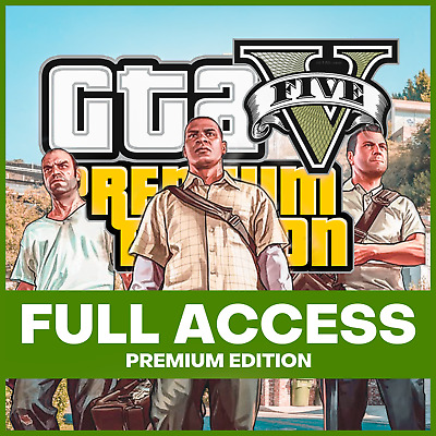 ✅ GTA 5 Grand Theft Auto V PC Premium Edition Full Game (Epic Games Account) ✅