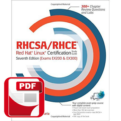 PDF RHCSA RHCE Red Hat Linux Certification Study Guide Exams EX200 & EX300 7th