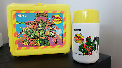 Mint Condition: Thermos Toxic Crusaders Lunch box with thermos (1991)