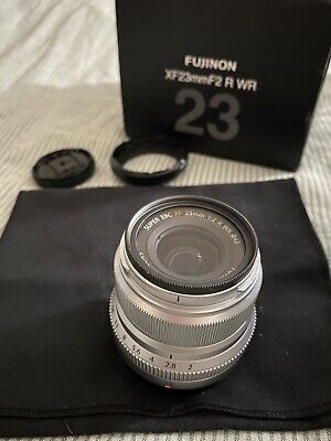 Fujinon Xf23mm F2 Boxed With Accessories For Fujifilm Fuji Lens 23mm Immaculate