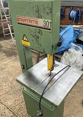 Startrite Bandsaw Model 301 Band Saw Woodworking 240 Volt Single Phase