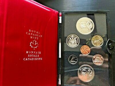 All 5 Royal Canadian Mint Proof Sets (1974, 1977 x 2, 1980 and 1981)